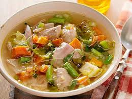 next day turkey soup with mashed potato polpetti recipe michael