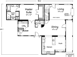 simple house floor plans with measurements simple house floor plans