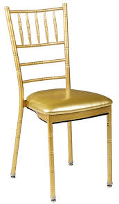 chaivari chairs 500 lb max chiavari gold chair with gold vinyl cushion mb 700