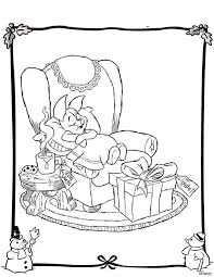20 christmas colouring images disney coloring
