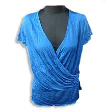 rayon blouse s wrap blouse made of rayon