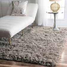 Shaggy Runner Rug Set 3 Bedside Runner Rugs Grey Shaggy Carpet Luxury Cosy Soft