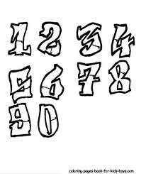25 trending graffiti numbers ideas on pinterest graffiti