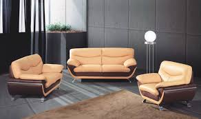 elegant two tone leather sofa monda couch create your own two tone