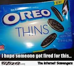 Oreo Memes - funny oreo thins meme pmslweb