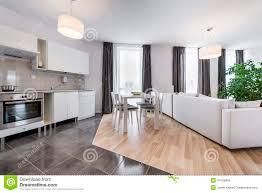 neutral open plan kitchen living room interior design ideas