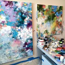 instagram introduction of contemporary artist paulette insall in