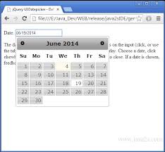 format date javascript jquery jquery ui datepicker default functionality in javascript