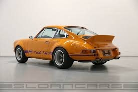 porsche signal yellow 1972 porsche 911 rsr tribute signal orange black sloan cars