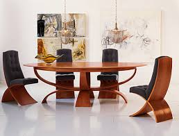 fine dining room tables stylish oak table and grey tufted chairs in extraordinary quality