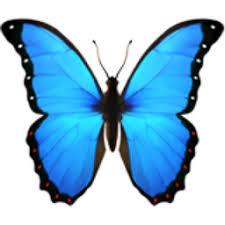 butterfly emoji u 1f98b