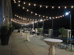Patio Cafe Lights by 24 Socket Outdoor Commercial String Light Set S14 Bulbs 54 Ft
