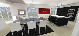 agencement cuisine ouverte amenagement salon salle a manger cuisine 40139 sprint co