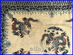 Antique Chinese Rugs A Marvelous Antique Art Deco Chinese Rug Dragon Pattern Antique