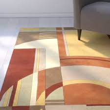art deco flooring art deco area rug wayfair