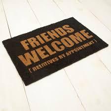 Disney Doormat Friends Welcome Doormat U0026 Disney Doormats Disney Welcome Friends