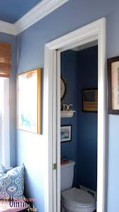 Powder Room Door One Room Challenge Powder Room Makeover The Reveal