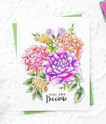 handmade watercolor cards mayholic design handmade card inspiration