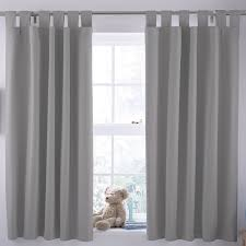 Duck Egg Blue Blackout Curtains Ardella Grey Plain Blackout Coating Tab Top Blackout Curtains W