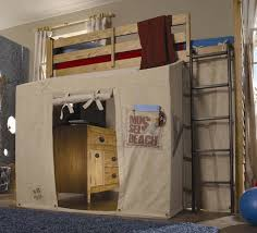 Bunk Bed Canopy Tent Bunk Beds Wooden Furniture Design Loft Bed