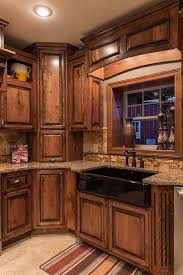 Download Rustic Kitchen Cabinets Gencongresscom - Rustic cherry kitchen cabinets