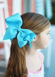 hair bows large grosgrain hair bow