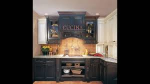blue distressed kitchen cabinets youtube