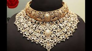 fashion design necklace images Exclusive gold and diamond necklace designs jpg