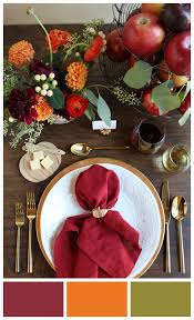 5 pretty color palettes for fall weddings beau coup blog