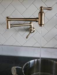 Installing A Kitchen Faucet Kitchen Faucet U0026 Installing A Pot Filler Sincerely Sara D