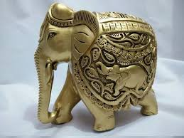 wooden animal sculptures wooden elephant at rs 950 s