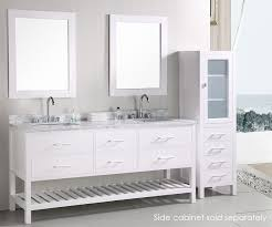Bathroom Cabinets Modern by Design Element London Cambridge Double 72 Inch Modern Bathroom