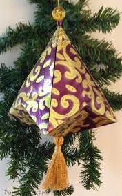 purple hues and me german bell christmas ornament u0026 tassel diy