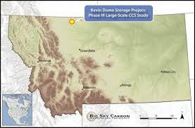 Big Sky Montana Map by Site Characterization Big Sky Carbon Sequestration Partnership