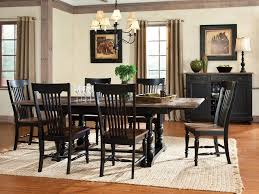 black dining room set rustic black dining room sets with rustic dining table