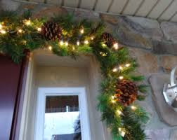 Christmas Decorations Outdoor Garland by Christmas Decorations Mantle Garland Christmas Garland
