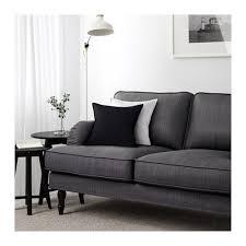 Grey Sofa Bed Stocksund Sofa Nolhaga Dark Gray Black Ikea