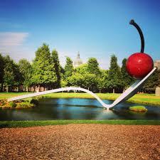 Walker Art Center Sculpture Garden Minneapolis U2013 An All Star City Travlin U0027