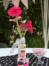 centerpieces for party tables party in pink