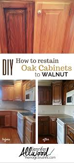 staining kitchen cabinets darker before and after stained oak kitchen cabinets page 1 line 17qq