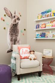 nursery trends for project large bunny wall decal whimsical girl nursery
