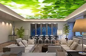 Decorative Ceiling Light Panels Textile Decorative Panel For False Ceilings Backlit Led