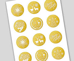 printable holiday gift tags christmas tags avery labels 22807 gold