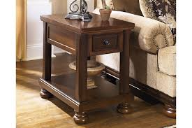 Power Chairside End Table Porter Chairside End Table Ashley Furniture Homestore