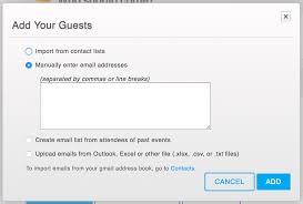 Business Meeting Request Email Sample by How To Create And Send Email Invitations For Your Event