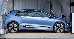 volkswagen electric concept news volkswagen gen e concept previews next golf