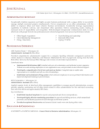 Office Assistant Resume Template Stunning Resume Template For Administrative Assistant Contemporary
