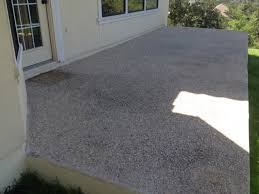 Exposed Aggregate Patio Pictures by Exposed Aggregate Patio Ground Down Mvl Concretes U0027 Blog