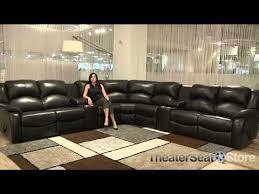 Palliser Leather Reclining Sofa Palliser Dane Sectional Sofa Youtube