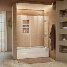 Glass Bathtub Enclosures Bathtub Doors Bathtubs The Home Depot